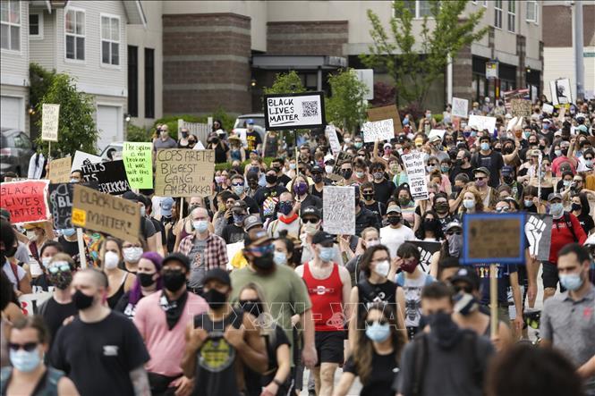 Tổng thống Mỹ cảnh báo sẽ cứng rắn với người biểu tình tại thủ đô Washington