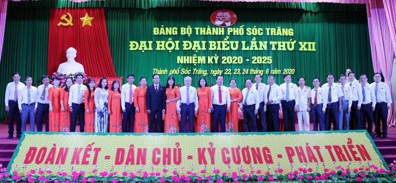 Đồng chí Nguyễn Văn Quận tái đắc cử Bí thư Thành ủy Thành phố Sóc Trăng