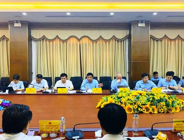 Đoàn công tác Bộ Kế hoạch và Đầu tư làm việc tại Quảng Trị