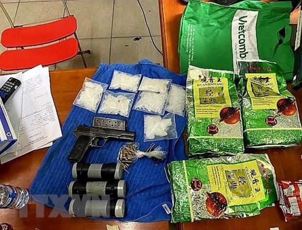 Phá đường dây ma túy xuyên quốc gia, thu giữ 86kg ma túy