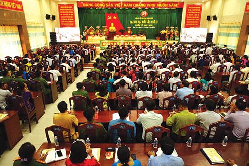 Hàm Tân tăng cường công tác xây dựng Đảng trong sạch, vững mạnh