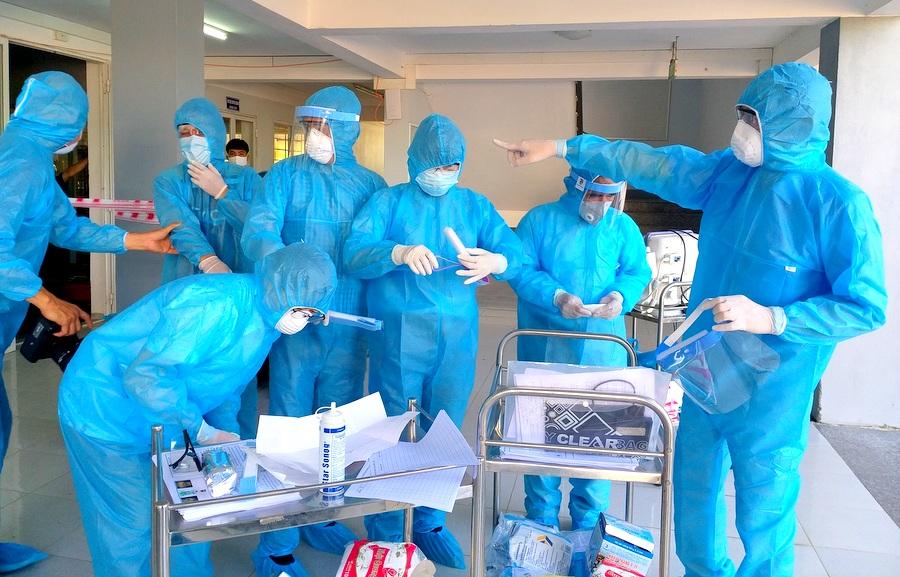 Quảng Nam kiểm tra sức khỏe 345 công dân trở về từ Nhật Bản