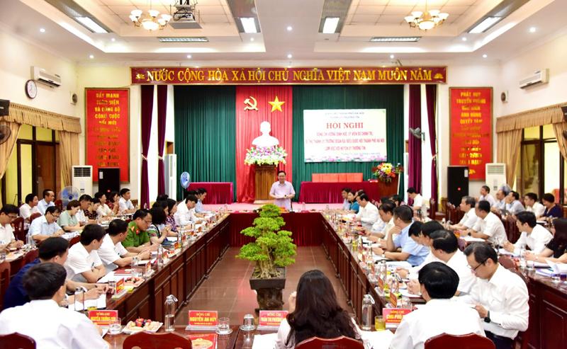 Hà Nội sẽ có cơ chế, chính sách phát triển trục kinh tế phía Nam