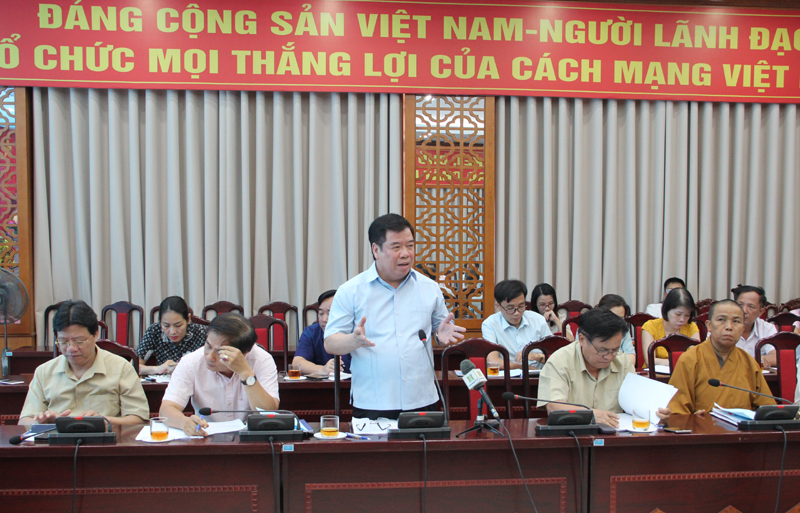 Góp phần nâng cao chất lượng Báo cáo Chính trị Đại hội XVII Đảng bộ Thành phố Hà Nội