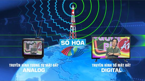 Ngừng phát sóng truyền hình analog tại 21 tỉnh, thành