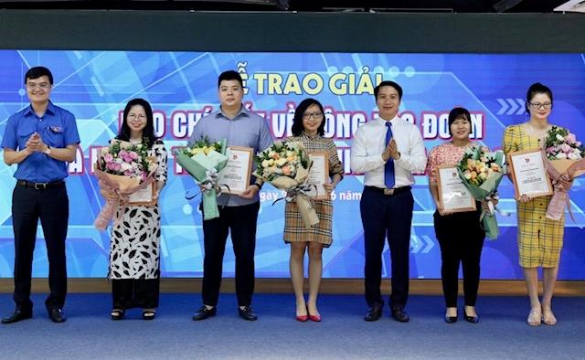 Báo điện tử ĐCSVN đoạt giải Ba báo chí toàn quốc về công tác Đoàn