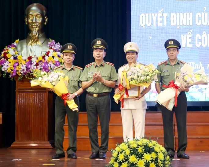 Điều động, bổ nhiệm Giám đốc Công an tỉnh Nghệ An, Hà Tĩnh, Quảng Bình