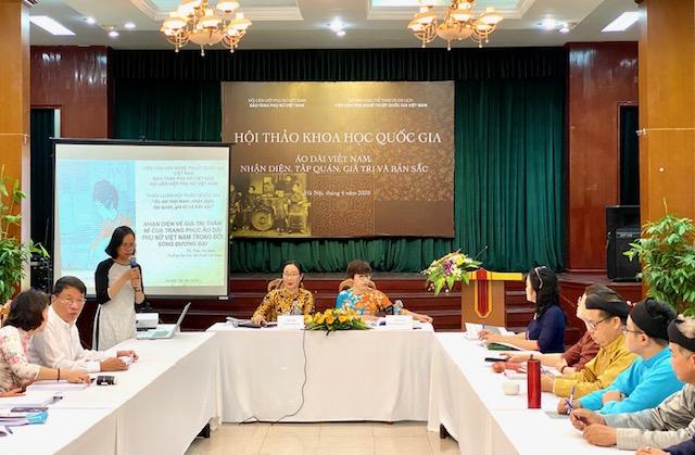 Áo dài Việt Nam Nhận diện, tập quán, giá trị và bản sắc