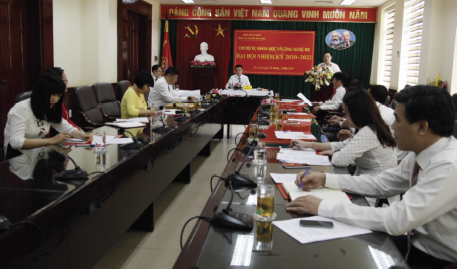 Đảng bộ cơ quan Tổng cục Dự trữ Nhà nước thi đua hướng tới đại hội Đảng các cấp