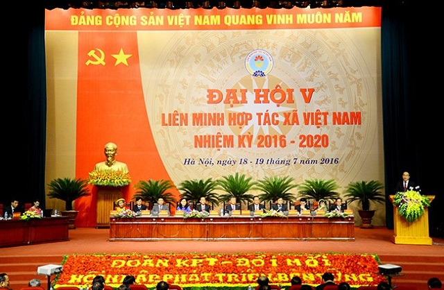 Tổ chức Đại hội Liên minh Hợp tác xã Việt Nam và cấp tỉnh nhiệm kỳ 2020-2025