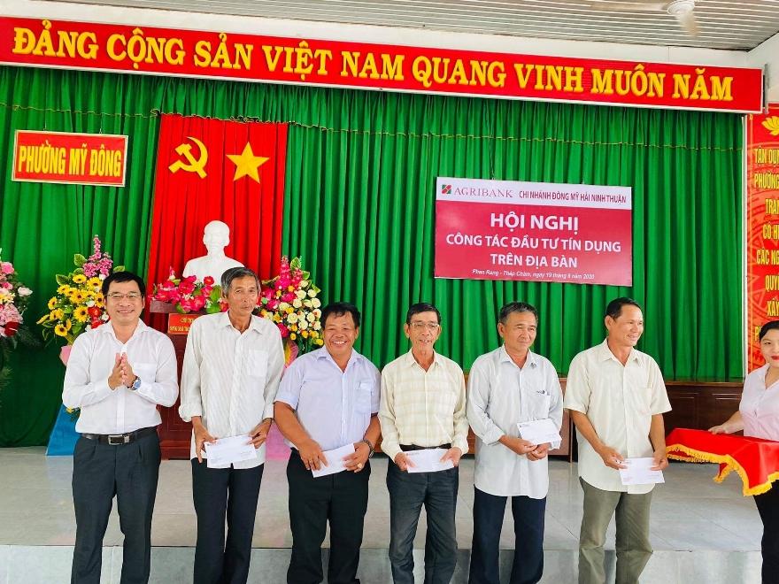 Agribank Chi nhánh Đông Mỹ Hải, Ninh Thuận tổ chức Hội nghị công tác đầu tư tín dụng trên địa bàn