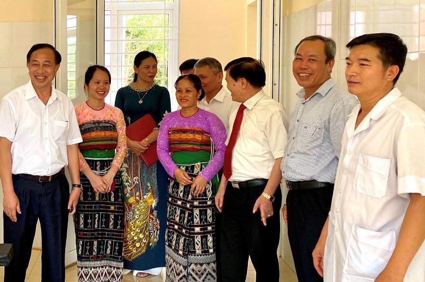 Agribank Thanh Hóa khánh thành và bàn giao 2 công trình An sinh xã hội tại huyện Quan Hóa và Quan Sơn