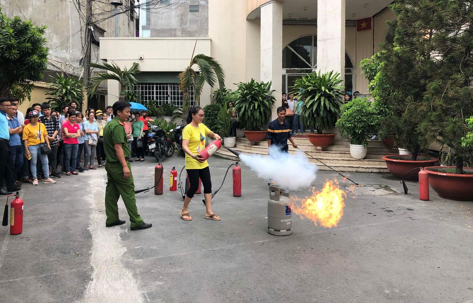 Phòng, chống cháy nổ khi sử dụng khí gas trong mùa nắng nóng