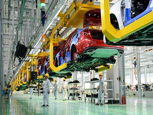 Quy định mức thu lệ phí trước bạ đối với ô tô sản xuất, lắp ráp trong nước