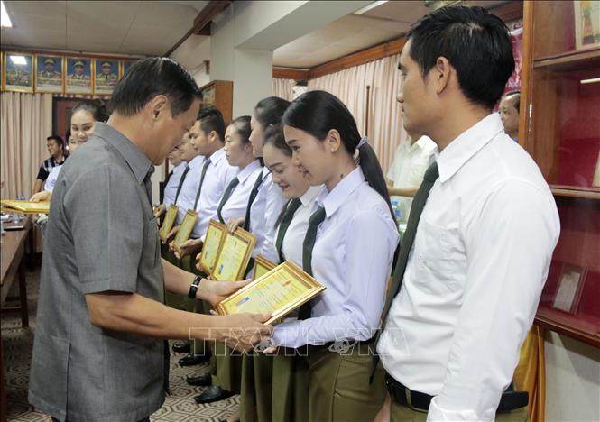 Tiếp tục tổ chức các lớp học tiếng Việt cho cán bộ, chiến sĩ Bộ Công an Lào