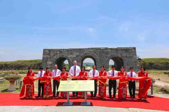 Khánh thành dự án tu sửa, bảo tồn di sản văn hóa Thành nhà Hồ