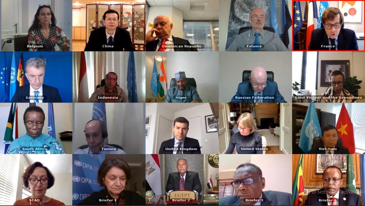 Hội đồng Bảo an Liên hợp quốc thảo luận về tình hình đập Đại Phục Hưng Ethiopia