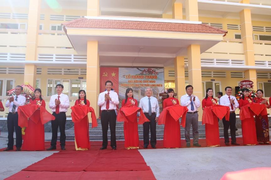 Khánh thành Trường Tiểu học Long Phú B, tỉnh Sóc Trăng do Agribank tài trợ