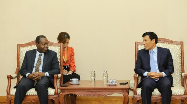 Tăng cường hợp tác văn hóa, thể thao, du lịch giữa Việt Nam và Angola