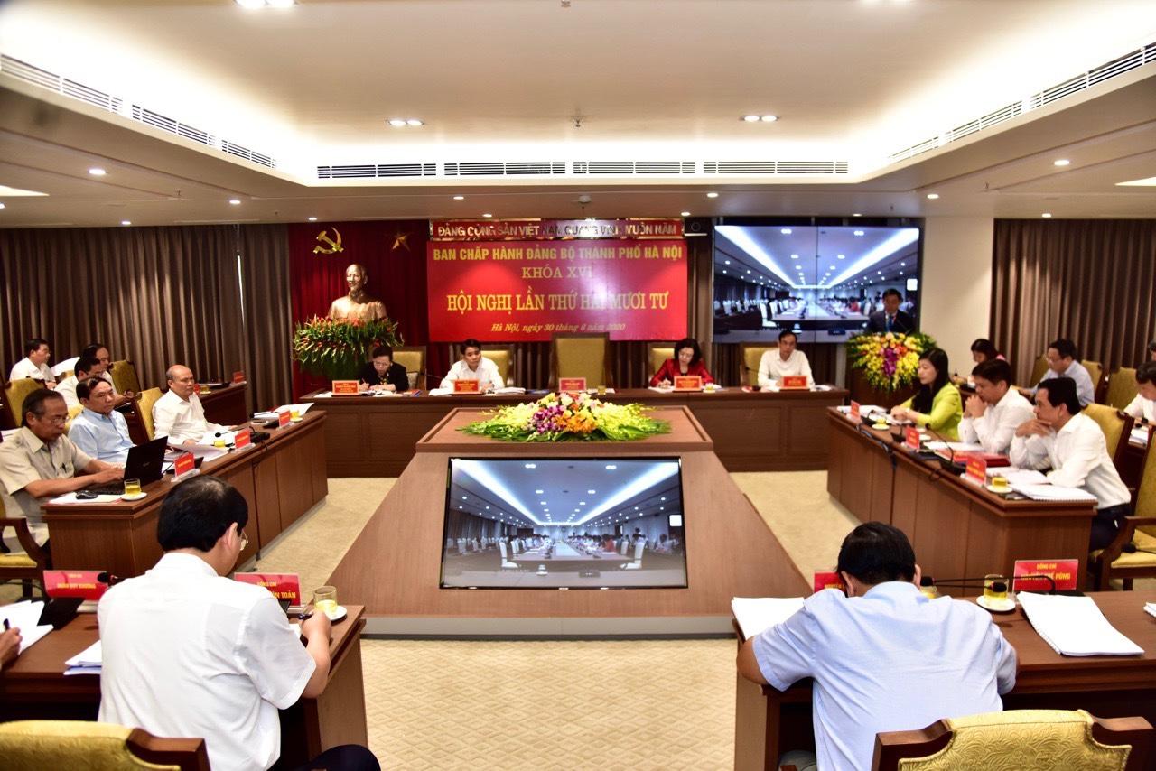 Hội nghị Ban Chấp hành Đảng bộ TP Hà Nội lần thứ 24 Xem xét 5 nội dung quan trọng