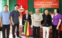Thường trực Ban Bí thư Trần Quốc Vượng tiếp xúc cử tri huyện Trấn Yên, tỉnh Yên Bái