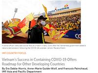 Việt Nam là hình mẫu cho các nước đang phát triển về phòng, chống COVID-19