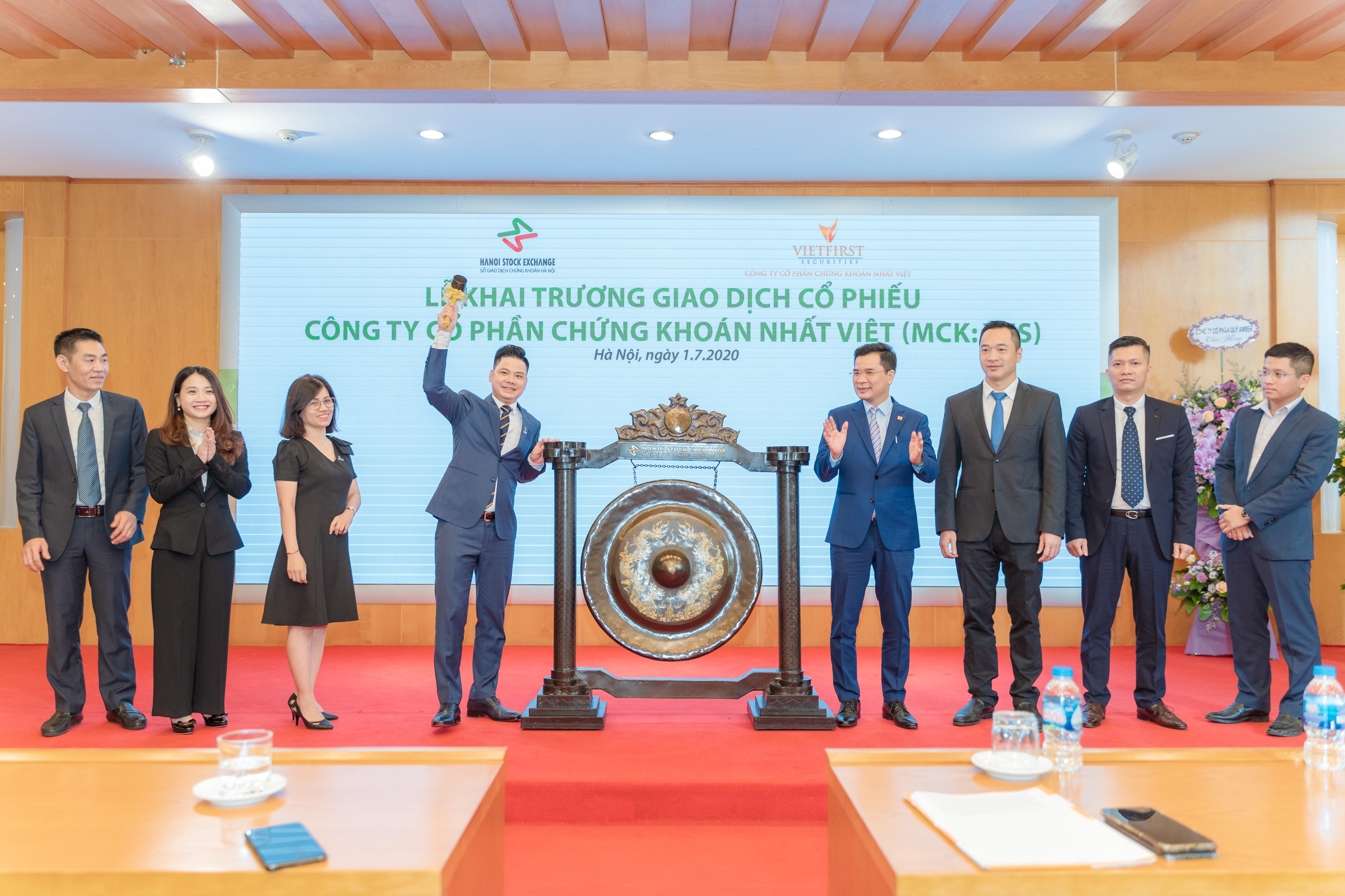 Hơn 41 triệu cổ phiếu CTCP Chứng khoán Nhất Việt chính thức giao dịch trên UPCoM