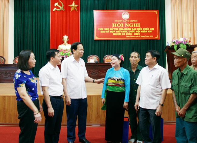 Bộ trưởng Đào Ngọc Dung Triển khai các chính sách phải minh bạch, đến tận tay đối tượng