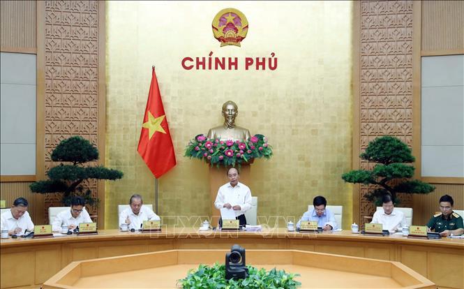 Thủ tướng chủ trì phiên họp Chính phủ về công tác xây dựng thể chế