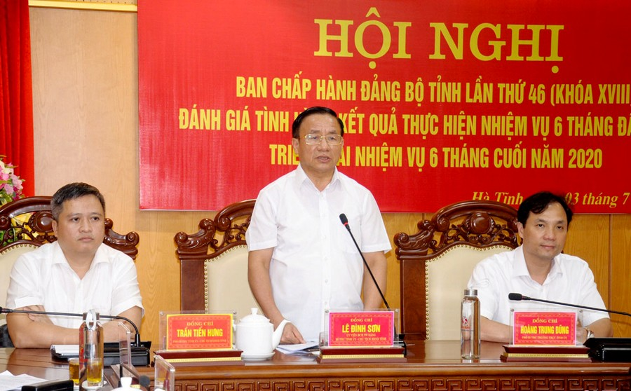 Hà Tĩnh Phấn đấu đến 30 7, cơ bản tổ chức xong đại hội đảng bộ cấp huyện
