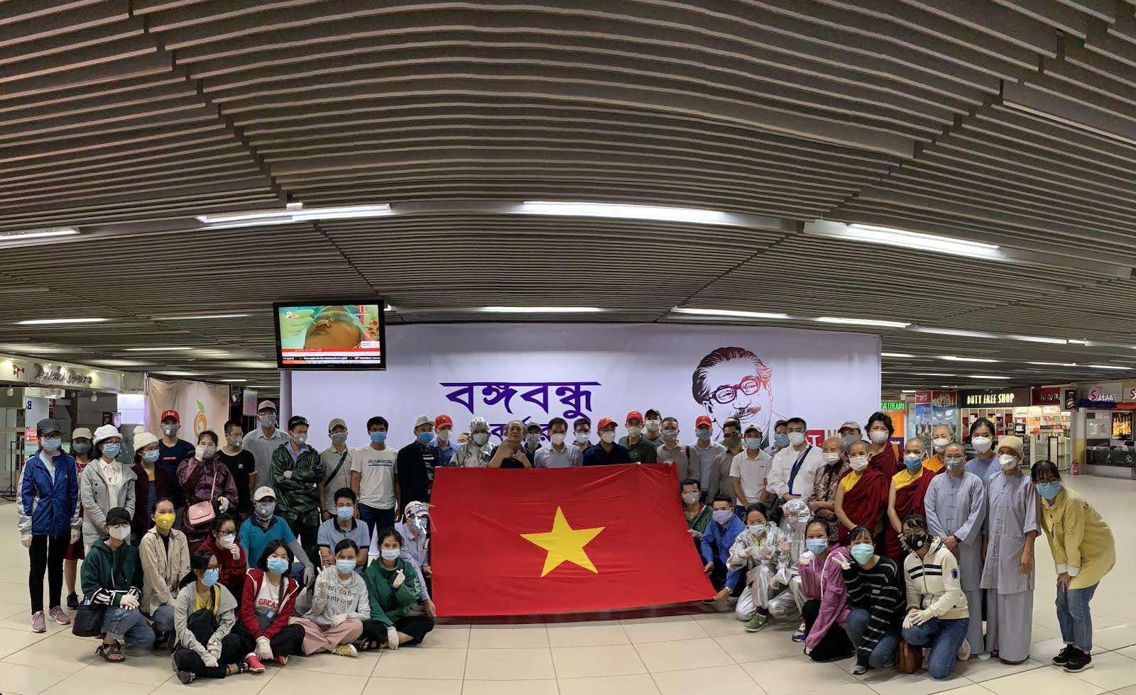 Đưa công dân Việt Nam từ Sri Lanka, Bangladesh về nước