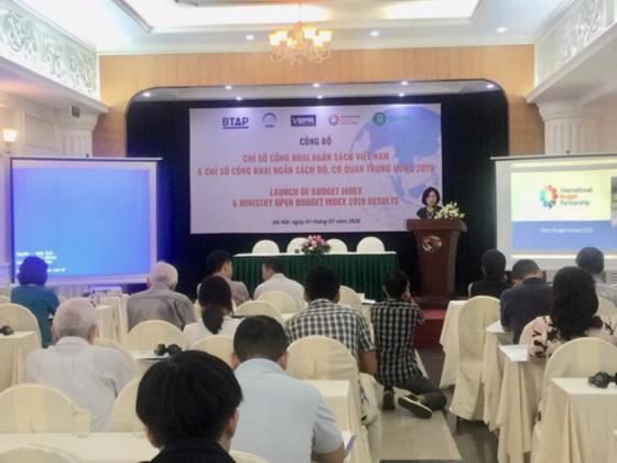 Việt Nam tăng 14 bậc xếp hạng về công khai, minh bạch ngân sách