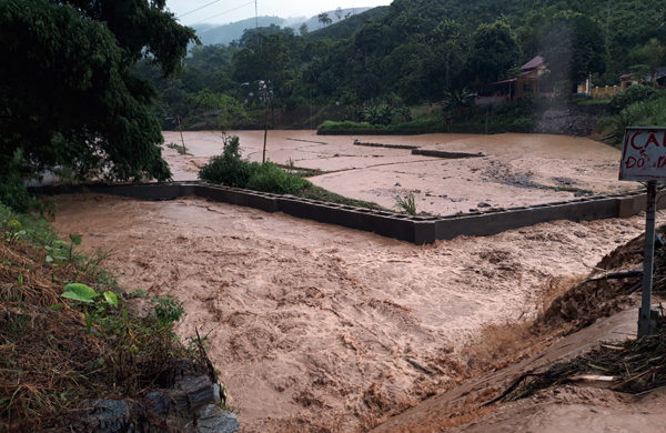 Mưa lớn gây thiệt hại tại Lào Cai, Lai Châu