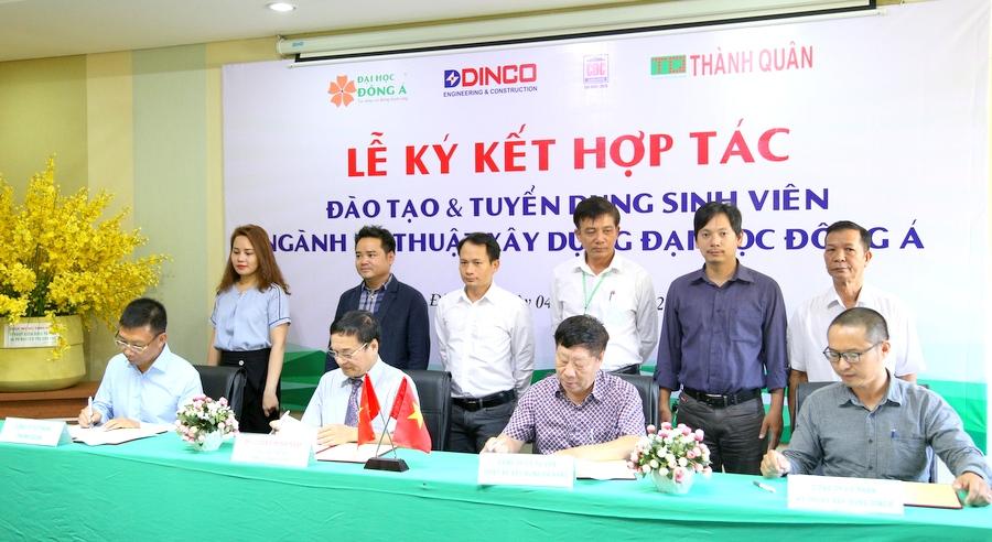 Hơn 60 doanh nghiệp hợp tác đào tạo ngành Kỹ thuật xây dựng với Đại học Đông Á