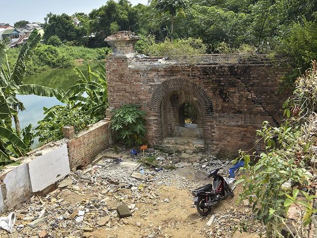 Thừa Thiên Huế Hai cổng vòm mới phát hiện là nơi đặt đại pháo