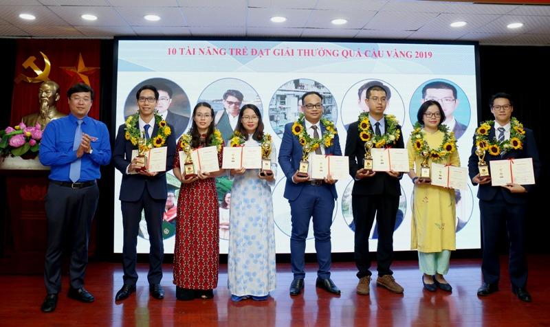 Tôn vinh các tài năng trẻ trong lĩnh vực khoa học công nghệ