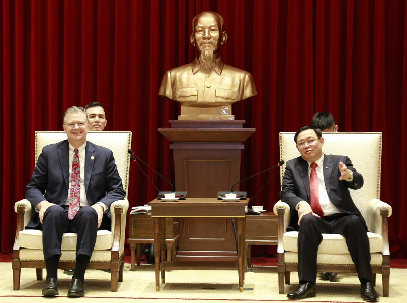 Thúc đẩy quan hệ giữa Hà Nội với các địa phương của Hoa Kỳ