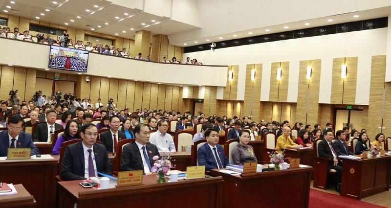 Khai mạc kỳ họp thứ mười lăm, HĐND TP Hà Nội khóa XV Quyết định nhiều nội dung quan trọng