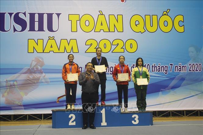 Đoàn Hà Nội dẫn đầu Giải vô địch Wushu toàn quốc năm 2020