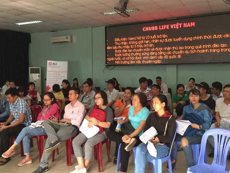 Nhu cầu nhân lực tại thành phố Hồ Chí Minh giảm 28
