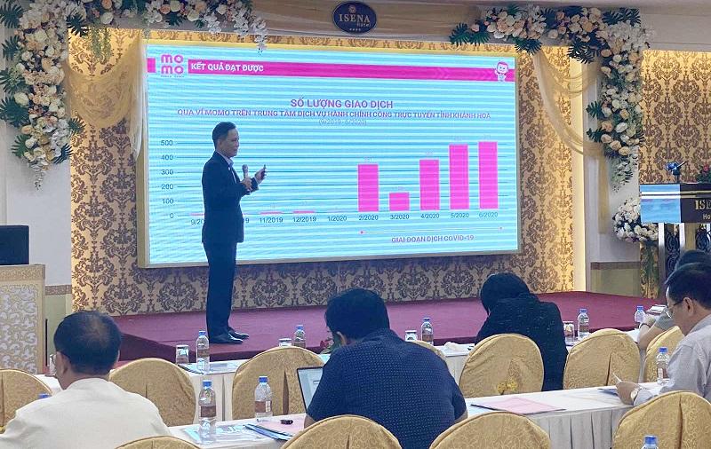 75 giao dịch thanh toán dịch vụ hành chính công trực tuyến tại Khánh Hòa bằng Ví MoMo