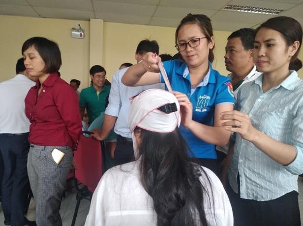 Huấn luyện An toàn, vệ sinh lao động tại Trường Cao đẳng Công nghệ Hà Tĩnh