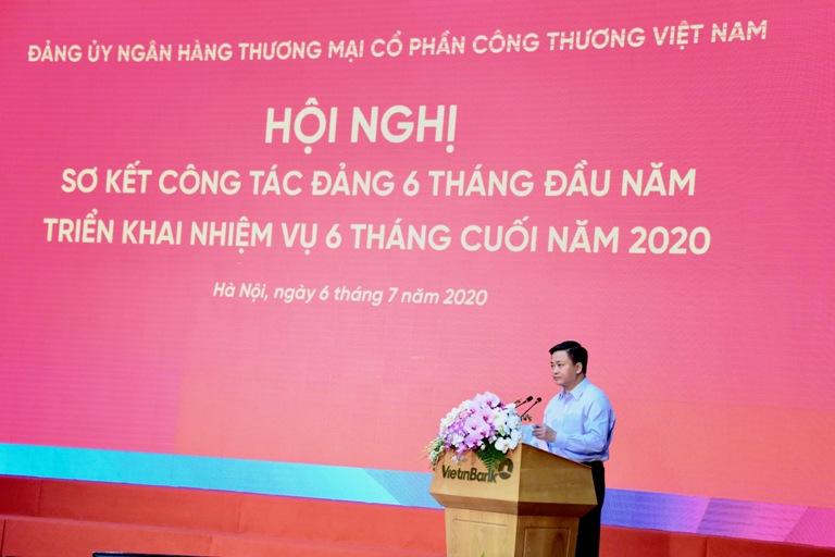 VietinBank sơ kết công tác Đảng 6 tháng đầu năm 2020