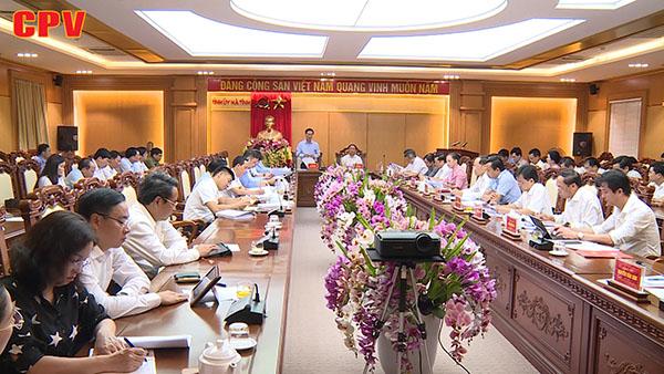 Kiểm tra công tác chuẩn bị, tổ chức đại hội tại Hà Tĩnh