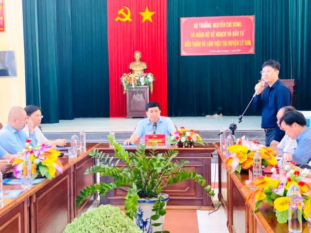 Lý Sơn Quảng Ngãi  Đảm bảo hài hòa phát triển kinh tế với bảo vệ môi trường