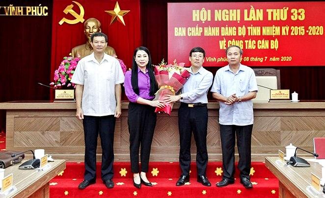 Đồng chí Lê Duy Thành giữ chức Phó bí thư Tỉnh ủy Vĩnh Phúc