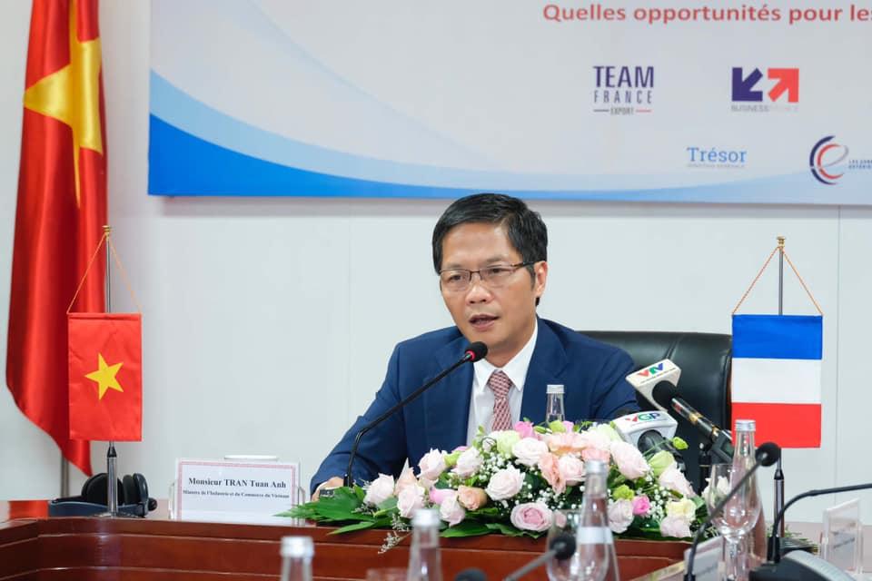 Thúc đẩy quan hệ thương mại Việt Nam - Pháp