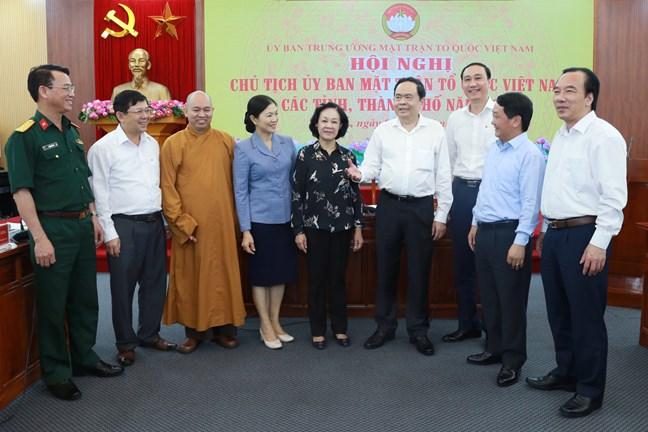Mặt trận Tổ quốc các cấp cần tổ chức hiệu quả lấy ý kiến góp ý văn kiện Đại hội XIII của Đảng