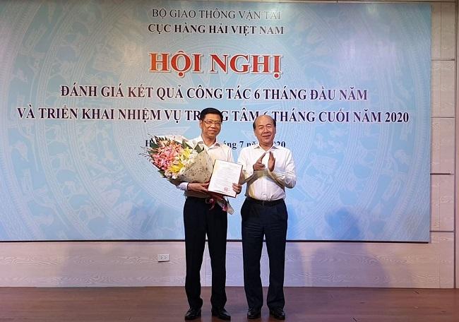 Bổ nhiệm lại chức vụ Cục trưởng Cục Hàng hải Việt Nam