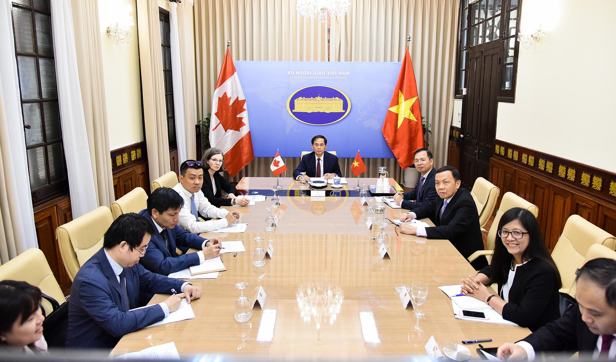Tham khảo chính trị cấp Thứ trưởng Ngoại giao Việt Nam – Canada